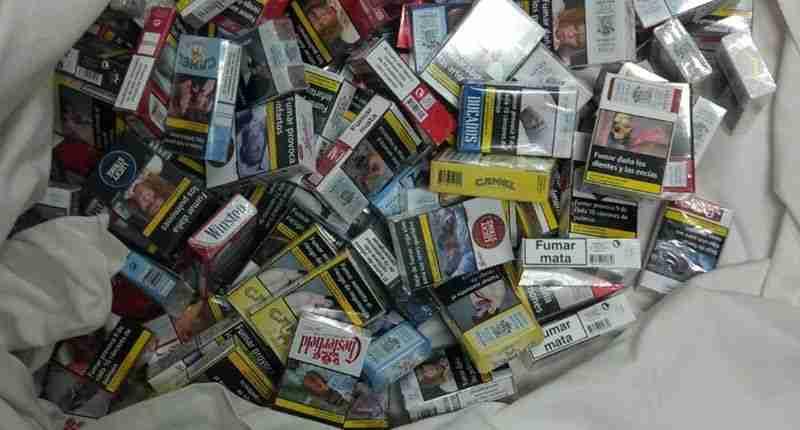Cajetillas de Tabaco Robadas