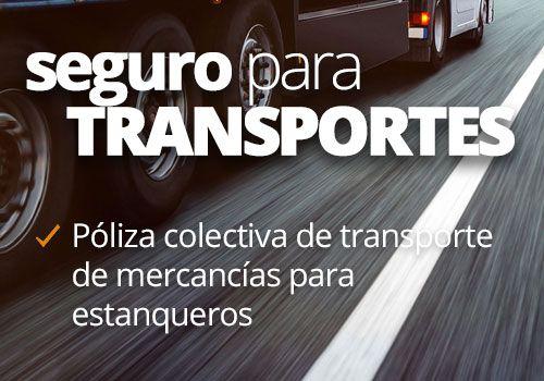 Seguro para transporte de mercancías para estanqueros